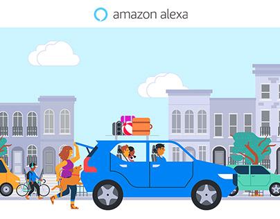 Amazon Alexa-Auto Website and Digital Ads
