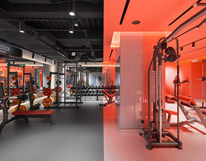 DEPO Fitness, interior photography