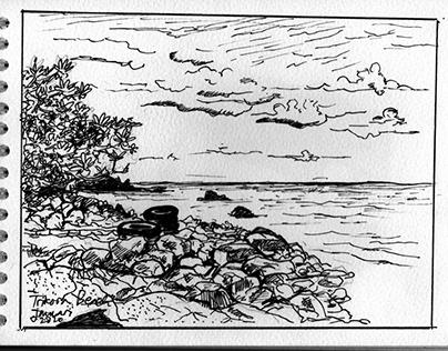 The Beach Sketchbook
