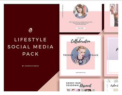 Lifestyle Social Media Instagram Pack