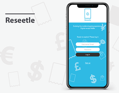 Reseetle Digital Receipt App