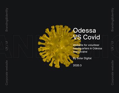 Odessa vs COVID-19 website