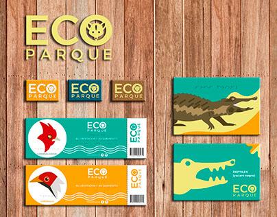 ECO PARQUE - sistema de identidad