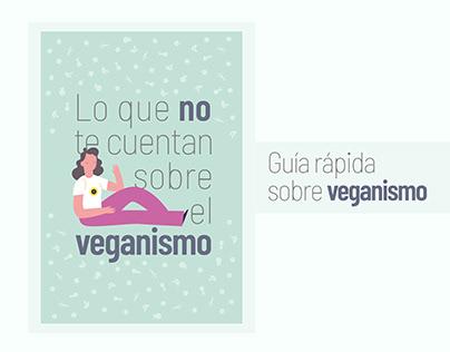 """""""Lo que no te cuentan sobre el veganismo""""   Infografía"""