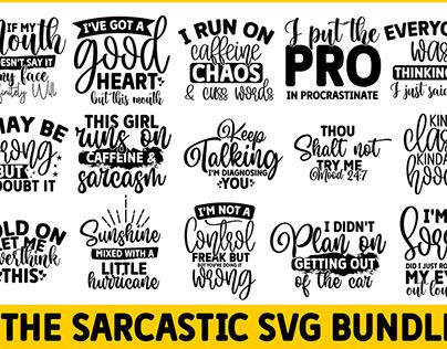 Sarcastic SVG Bundle | Sarcastic SVG | 15 Designs