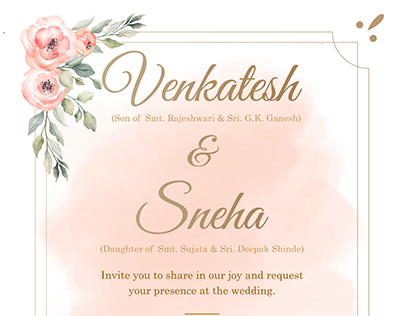 Wedding E-Invite