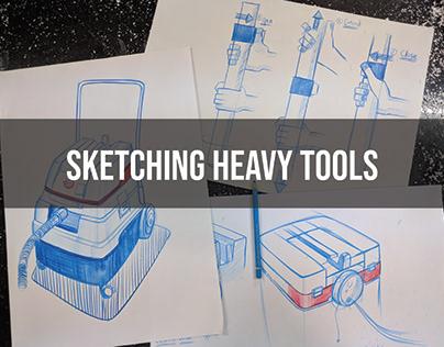 Heavy Workshop Tools Sketing