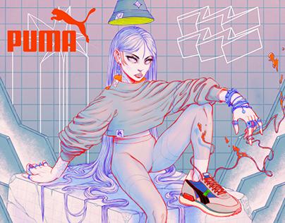 PUMA FUTURE RIDER Illustration
