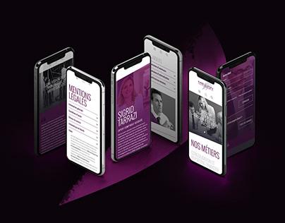 MELVAN | web design | visual identity