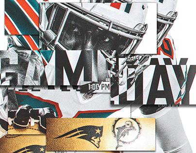 2019 Miami Dolphins Gameday Designs