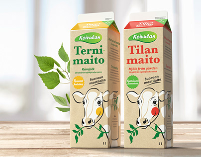Product Packaging for Koivulan Kotijuustola