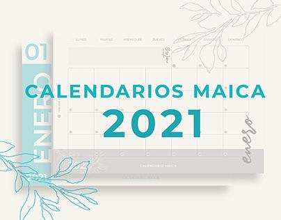 CALENDARIOS MAICA 2021
