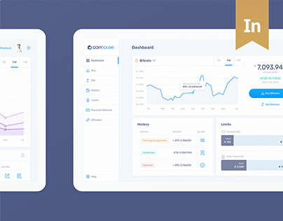 Coinhouse — Product Design