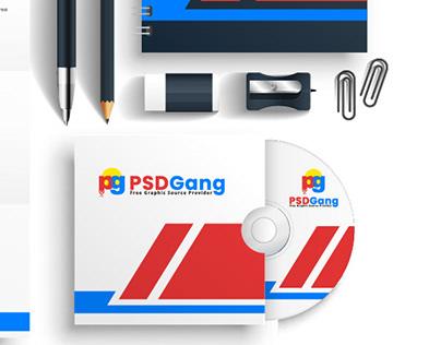 New PSD Gang logo branding
