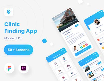 Seanic - Find Clinic App UI Kit