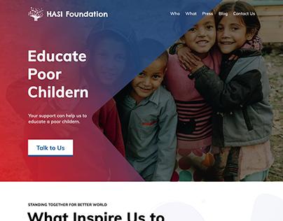 HASI Foundation   Web Application