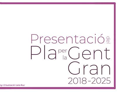 """Graphic report """"Presentació del pla per la gent gran"""""""
