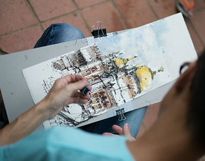 A Book of Sketchers & Memories