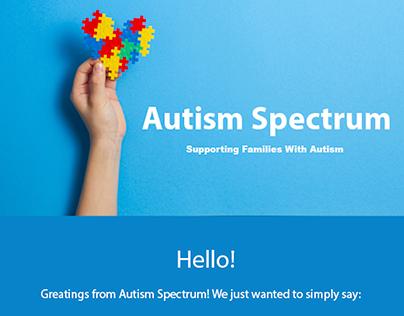 Autism Spectrum Email