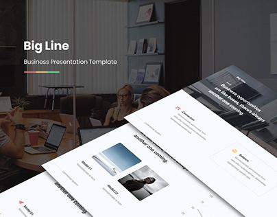 Big Line Business Template