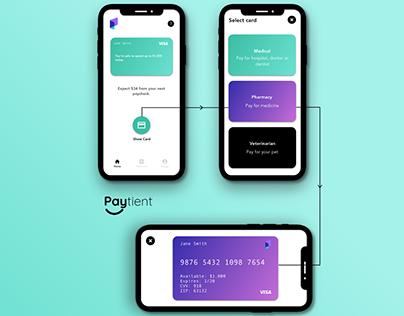 Mockup // Paytient - Show Card UI