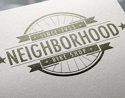 Neighborhood Bike Shop Logo