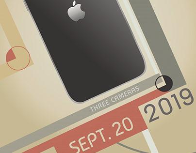 Zeitgeist iPhone ad, Bauhaus style