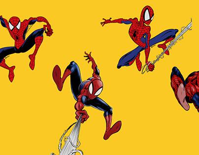 Spiderman Drawings