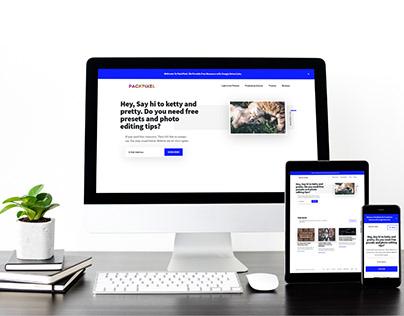 I will create responsive wordpress website and blog