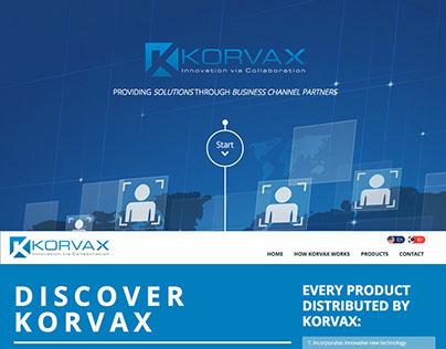 Korvax, Website Design and Development