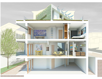 Gemini House Interior Design