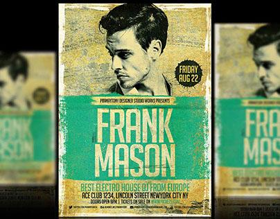 DJ Flyer-Frank Mason Pranaytony Design!