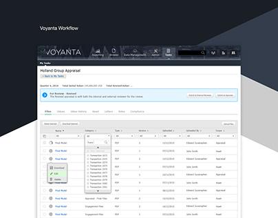 Voyanta Workflow Module