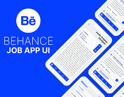 Behance Job App | Part 1