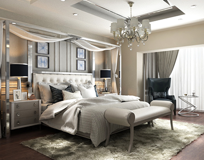 Luxury Master Bedroom Interior Design