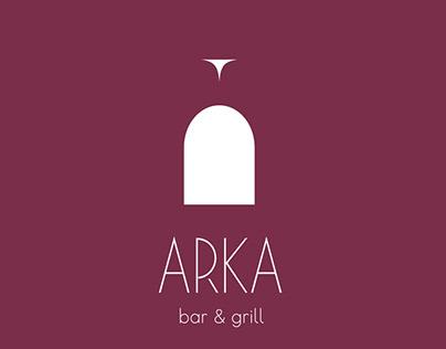 Роспись досок для бара ARKA