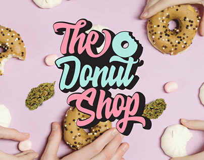 Logo design The Donut Shop