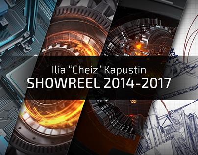 "Ilia ""Cheiz"" Kapustin - Showreel 2014-2017"