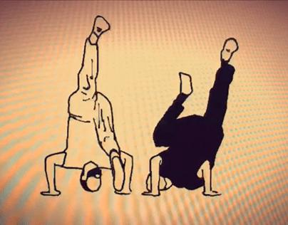 A short capoeira animation
