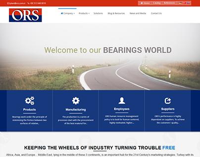 ORS Website Redesign