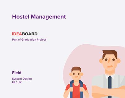 Hostel Management - Part of IdeaBoard Ecosystem - GP