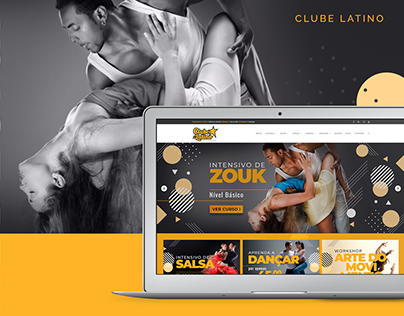 Clube Latino - Escola de Dança - Website Development