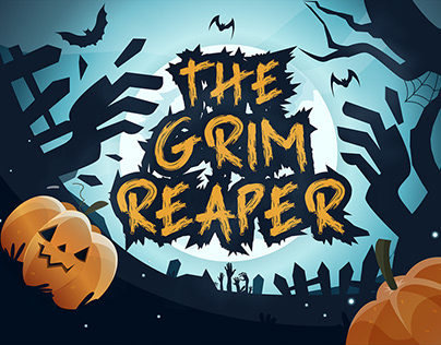 The Grim Reaper - Brush Font