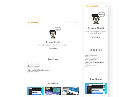 Franco Cirulli - Sitio Web