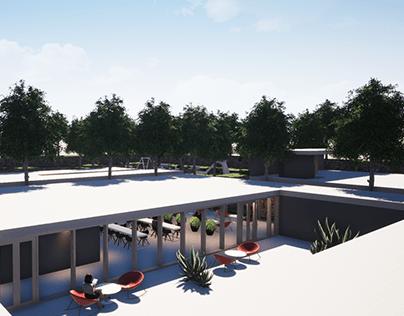 ARCHITECTURE D'INTERIEUR - ESPACE CULTUREL