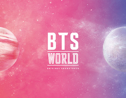 BTS World Game OST Album Package Design