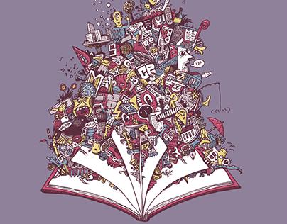 """""""Mezi náma""""  illustration for event"""