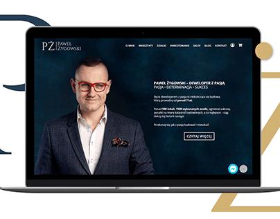 Paweł Żygowski - strona internetowa