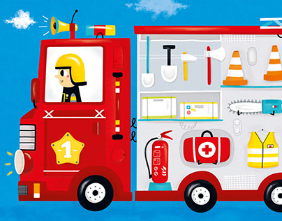Puzzle: Fire Truck