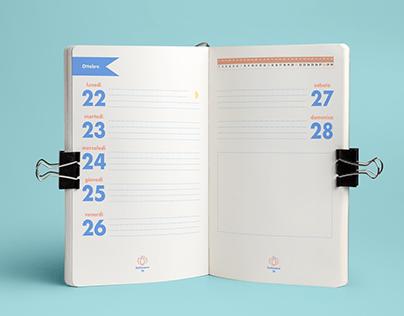 Typographic agenda
